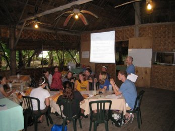 UW undergraduates learn about coastal ecosystems on Kosrae, Micronesia