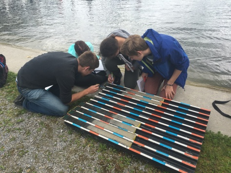 ETH undergrads count varves and calculate sediment accumulation rates in Lake Greifen, Switzerland