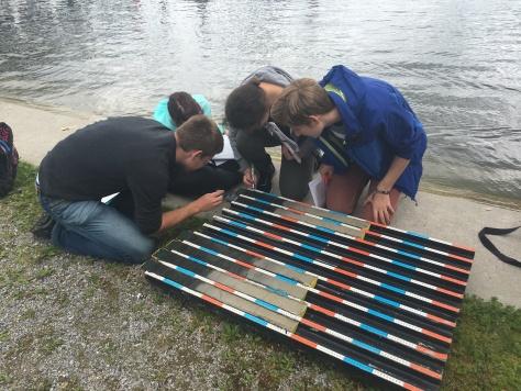 ETH undergrads count varves and calculate sediment accumulation rates in Lake Greifen, Switzerland